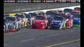 getlinkyoutube.com-Aaron's 499 2007 - Last laps