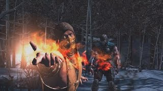 getlinkyoutube.com-Mortal Kombat X - iOS/Android Scorpion X Ray / Fatality **TEST VIDEO** (1080p 60FPS)