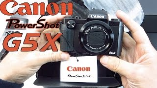 getlinkyoutube.com-Canon PowerShot G5X Unboxing