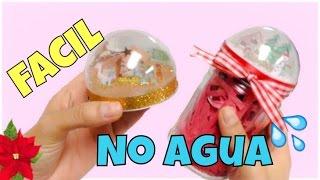 getlinkyoutube.com-MANUALIDADES PARA NAVIDAD,como hacer un globo de nieve FACIL (snow globe)