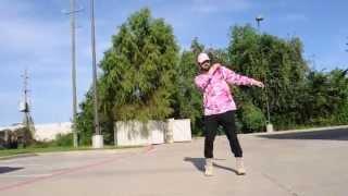 getlinkyoutube.com-WHITE BOY CHRIS KILLIN IT! | HIT THE DAB | NEW DANCE!! @6Billionpeople