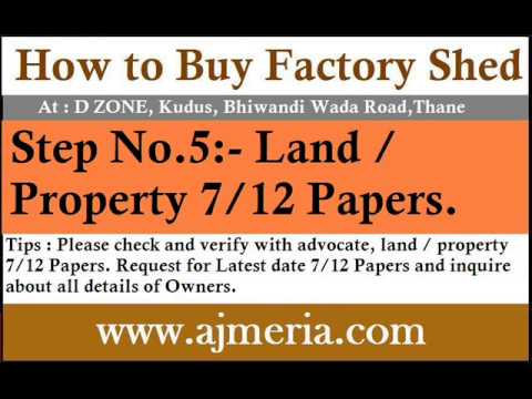 Howto-buy-Warehouse-Industrial-factory-shed-Gala-Godown-mumbai-Bhiwandi-Step-5-Industrial-property-a