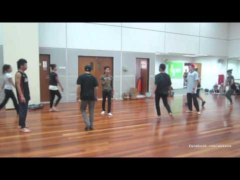 Wakaka Crew Practice with Penari DBKL for Malaysia Band Bukit Jalil 2011