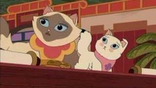 getlinkyoutube.com-Sagwa The Chinese Siamese Cat- How Sagwa Got Her Colors HD 1