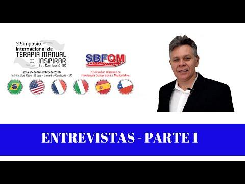 Vídeo: Entrevistas - Simpósio Internacional de Terapia Manual