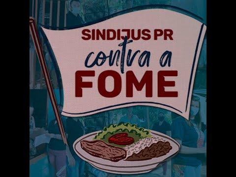 """Campanha """"Sindijus-PR contra a fome"""""""