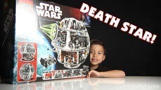 getlinkyoutube.com-LEGO DEATH STAR Set 10188 Unboxing by EvanTubeHD - 1080p High Definition!