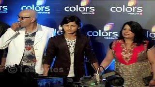 getlinkyoutube.com-Sana Sheikh, Aijaz, Namish, Sumedh, Siddharth Nigam and Faisal Khan at Colors Party