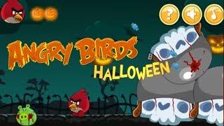 Angry Birds Halloween Adventure Walkthrough Gameplay #2 นกโกรธ 앵그리버드 할로윈 어드벤처 # 2