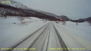 getlinkyoutube.com-Narvik-Tromsø E6/E8