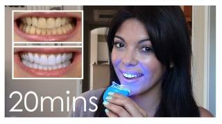 How to get white teeth fast! - just 20 mins!