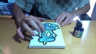 getlinkyoutube.com-Graffiti Character