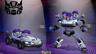 Angry Birds Transformers: The Blues Transform Bluestreak and Prowl