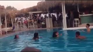 getlinkyoutube.com-SEX IN THE SANTORINI BEST BEACH BAR
