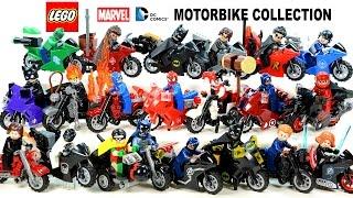getlinkyoutube.com-LEGO® Avengers Batman Motorcycle Collection Marvel & DC Super Heroes
