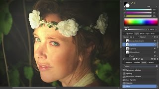 getlinkyoutube.com-Portrait Retouching (Affinity Photo Windows)