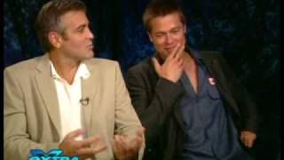 Ocean's 12 cast interview on Extra
