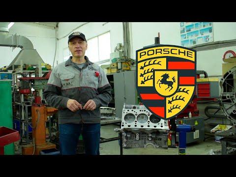 Ремонт двигателя Porsche Panamera. Обработка плоскостей и расточка цилиндров
