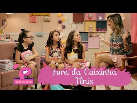 Tênis com Taciele Alcolea ❤ FORA DA CAIXINHA ❤ Mundo da Menina