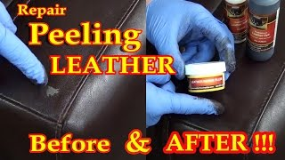 getlinkyoutube.com-REPAIR PEELING LEATHER VIDEO *****