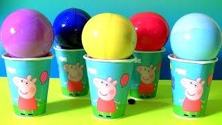 getlinkyoutube.com-Disney Princess Gacha Balls Surprise TROLLS Peppa Pig Dory Pokemon Mickey Minnie M&M's