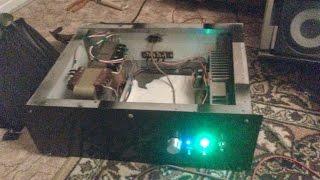 getlinkyoutube.com-Самодельный стереоусилитель 2x150 вт на 4 tda 7294 в мост + раскачка S90