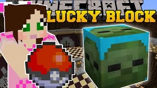 getlinkyoutube.com-Minecraft: POKEMON CHALLENGE GAMES - Lucky Block Mod - Modded Mini-Game