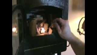getlinkyoutube.com-Mini 12 - Tiny wood burning stove