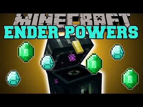 Minecraft: ENDER POWERS (UNLEASH THE POWER OF THE END!) Mod Showcase