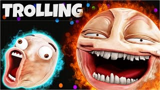 AGARIO Funny Moments | Trolling People In Agar.io #4