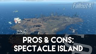 getlinkyoutube.com-Fallout 4 - Pros & Cons: Spectacle Island (Fallout 4 Settlement Review)