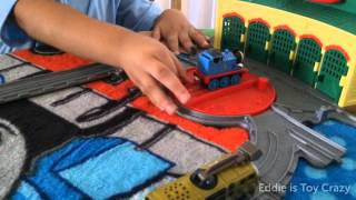 getlinkyoutube.com-Diesel 10 Chasing Thomas the Train Take N Play to Tidmoth Sheds