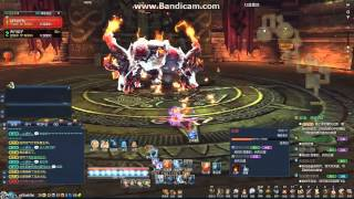 getlinkyoutube.com-Blade & Soul solo Force Master lv36 dungeon boss Fire Demon [CN] (with skill build)