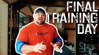 Brian Shaw's Last Training Day: Prepping For The Arnold Classic