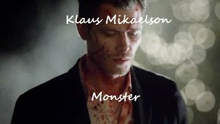 getlinkyoutube.com-Klaus Mikaelson - Monster (Imagine Dragons)