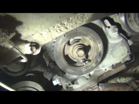 Ford Escape 2,3 GZ установка цепи и метки