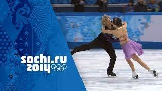 Meryl Davis & Charlie White Full Free Dance Performance Wins Gold | Sochi 2014 Winter Olympics