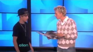 getlinkyoutube.com-Justin Bieber Surprises Ellen & Dance