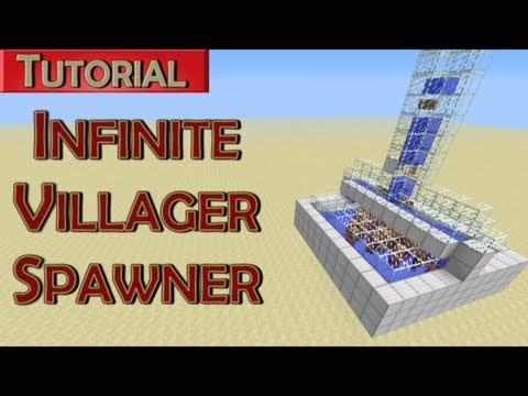 Minecraft Tutorial: Infinite Adult Villager Spawner