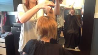getlinkyoutube.com-Cutting my hair.....