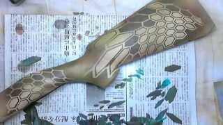 【VSR-10】エアガンをKryptek(クリプテック)迷彩塗装してみた【東京マルイ】