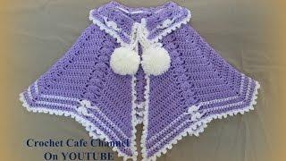 getlinkyoutube.com-كروشيه كاب شتوي سهل | قناة كروشيه كافيه Crochet Cafe Channel