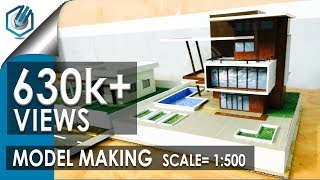 getlinkyoutube.com-MODEL MAKING OF MODERN ARCHITECTURAL BUILDING