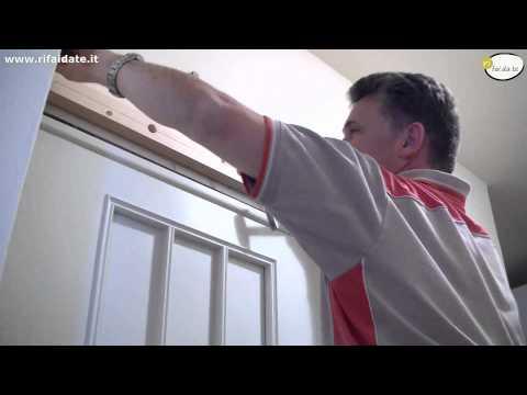 Come montare una porta scorrevole fai da te mania - Montare una porta a soffietto ...