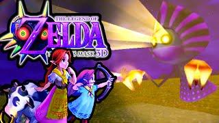 The Legend of Zelda Majora's Mask 3DS Gameplay Walkthrough Alien Ghosts! Romani Ranch, Epona PART 15