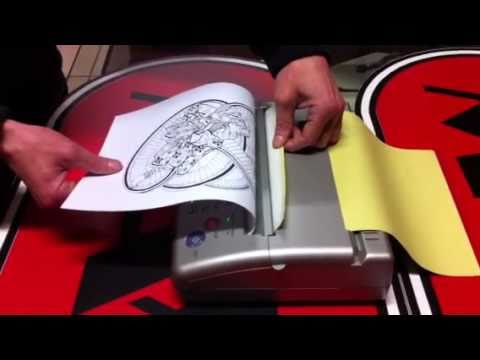 Mini Thermal Copier Machine for Tattoo Stencils
