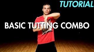 getlinkyoutube.com-How to do a Basic Tutting Combo (Hip Hop Dance Moves Tutorial) | Mihran Kirakosian