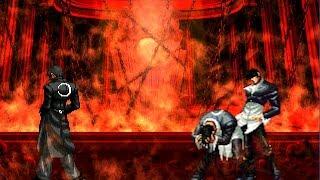 getlinkyoutube.com-(KOF WOJ) Iori Yagami Ct (Dyagamy) VS O.Flames Iori & Flames Iori yagami (Alejandra)