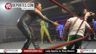 Lady Apache vs. Rosy Moreno Aniversario CILL Chicago