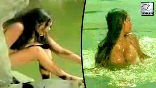 Rekha's Semi-Nude Scenes In Sunil Dutt's Movie I Praan Jaye Per Vachan Na Jaye Scene